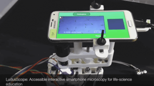 Featured image of 3D Printed Microscope Turns Your Smartphone into 'Amoeba PacMan'