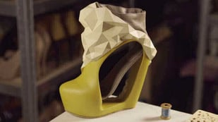 Featured image of Shoe Designer Katrien Herdewyn Creates Beautiful 3D Printed Footwear