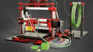 Featured image of Fischertechnik 3D Drucker (Bausatz 536624) im Test