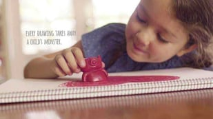 Featured image of Monster Crayons Project Helps Abused and Neglected Kids