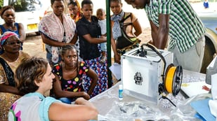 Featured image of Kuunda 3D Tested an Ultimaker 2 Go 3D Printer in Rural Tanzania