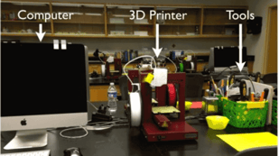 Featured image of JMU 3SPACE: the First College-Level 3D Printing Classroom in the USA