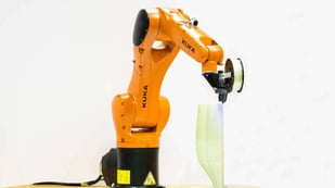 Featured image of Atropos is a Robot Arm That Weaves Fiber Like Spiders Would Do