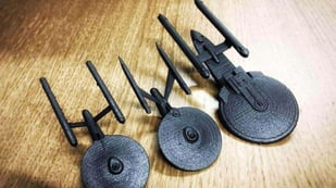 Featured image of Now You Can 3D Print Every Version of the USS Enterprise from Star Trek