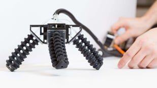 Featured image of Soft 3D Printed Robot Traverses Sand, Enters Your Nightmares