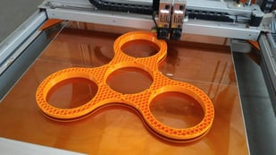 Featured image of BigRep Creates World's Biggest Fully 3D Printed Fidget Spinner