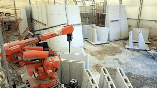 Featured image of Dubai's New Drone Laboratory is 3D Printed from Concrete