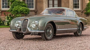Featured image of Unique Pininfarina Jaguar XK120 Rejuvenated with 3D Printing