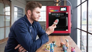 Featured image of XYZprinting Unveils Full-Color Desktop 3D Printer For $3,000
