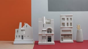 Featured image of Chisel&Mouse Create Replicas of Real Buildings Using 3D Printing and Plaster Casting