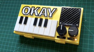 Featured image of This DIY OKAY Synthesizer is Fully 3D Printed