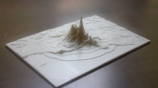 Featured image of [Project] 3D Print An Actual Earthquake Map
