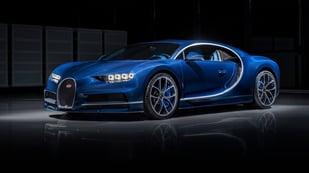 Featured image of Bugatti Chiron Testing a 3D Printed Titanium Brake Caliper