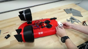Featured image of 3D Printed Hovercraft Project Gets off the Ground