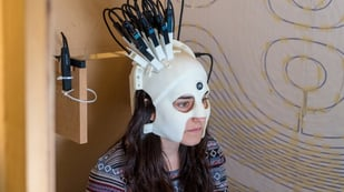 Featured image of Play Ping Pong While Wearing a 3D Printed Brain Scanner?