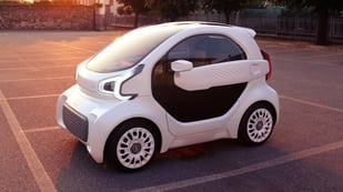 Featured image of LSEV is Mass-Produced 3D Printed Car by XEV and Polymaker