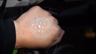 Featured image of New Technique Can 3D Print Electronics Directly on Skin
