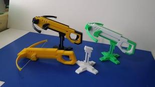 Image de l'en-tête de Projet 3D du week-end : imprimez en 3D une mini-arbalète !
