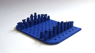 Featured image of Pocket-Sized 3D Printed Chess Set is Both Incredible and Impractical