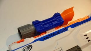 Featured image of 25 Best 3D Printed Nerf Gun Parts, Mods & Attachments