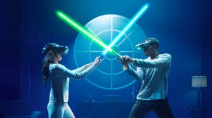 "Featured image of ""Star Wars: Jedi Challenges"" AR Lightsaber Duels are now Two-Player"