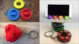 Featured image of 3D Printed Keychain: 10 Best Curated Models to 3D Print