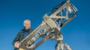 Featured image of Researchers Use Imprecise 3D Printing to Build Telescope