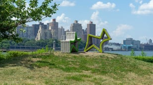 Featured image of Socrates Sculpture Park Gets 3D Printed Furniture for the Summer