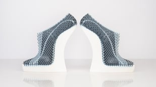 Featured image of Fashion Design Graduate Takes Major Step With Woven 3D Printed Shoes