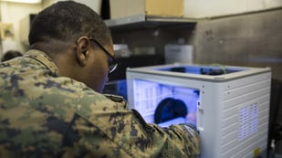 Featured image of US Marines Saved $70,000 by 3D Printing Small F-35 Aircraft Component