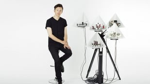 Featured image of Moritz Simon Geist 3D Prints Robots to Play Electronic Music