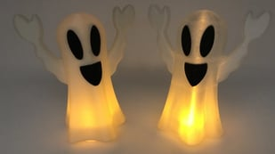Featured image of [Project] Tell Scary Tales Over This 3D Printed Tea Light Ghost
