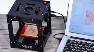 Featured image of NEJE DK-8-KZ Laser Engraver: Review the Specs