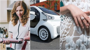 Featured image of 6 Examples of Fascinating 3D Printed Products