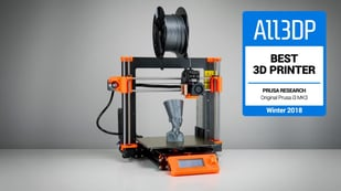 Image de l'en-tête de Original Prusa i3 MK3: meilleure imprimante 3D de 2018