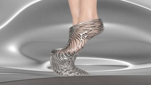 Featured image of Ica & Kostika Launch 3D-Printed Exobiology Shoe Collection