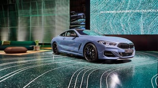 Featured image of BMW Welt's New Showroom Features Sleek 3D Printing Created Floor