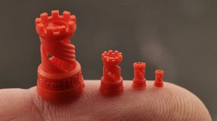 Featured image of The Smallest 3D Printed Things