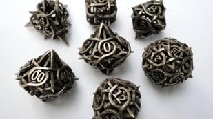 Featured image of 3D Printed Dice – 7 Best Sites to Look for Them