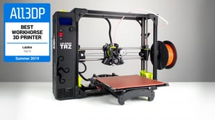 Featured image of Lulzbot TAZ 6 Review – Best Workhorse 3D Printer in 2019