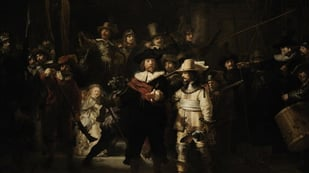 Featured image of Nachtwacht 360 is a Replica of Rembandt's Night Watch with 3D Printed Props