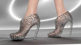 Featured image of Would You Buy A Pair of Metal 3D Printed Shoes By Ica & Kostika?