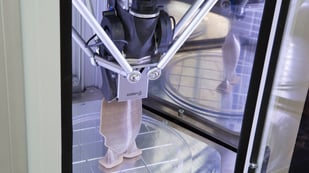 Featured image of WASP Debuts Medical-Grade Pellet PEEK 3D Printer
