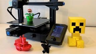 Imagen principal de Creality Ender 3 V2: mejor impresora 3D por menos de 300€