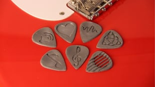 Featured image of 3D Printed Guitar Pick: 10 Amazing 3D Models
