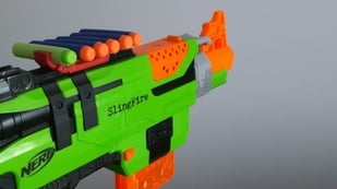 Featured image of Best 3D Printed Nerf Gun Parts, Mods, & Attachments
