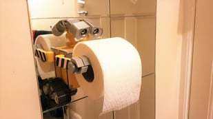 Featured image of 3D Printed Toilet Paper Holders: 15 Great Models