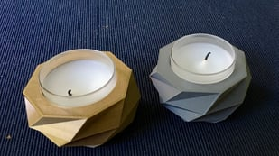 Featured image of 3D Printed Candle Holders: 10 Prints to Fight the Winter Gloom
