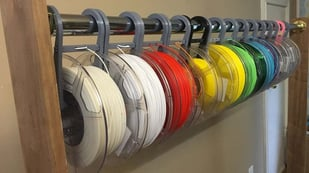 Featured image of Filament Storage: 10 Best Racks to Print, Build, or Buy