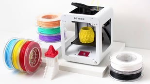 Featured image of Toybox 3D Printer: Specs, Price, Release & Reviews